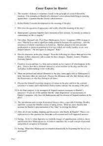 Thesis For Macbeth Essay Questions For Macbeth Come With Macbeth Essay And