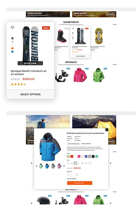 shopify themes supplement blackdeers responsive sporting goods shopify template