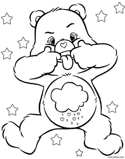 free coloring pages of care bears cousins