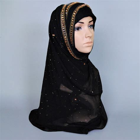 Pashmina Turban Instan Biru Glitter buy wholesale silk turban from china silk turban wholesalers aliexpress