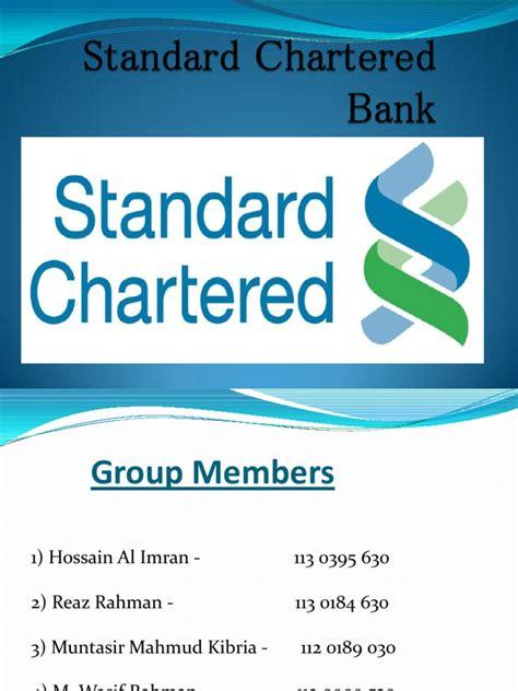 standard chartered bank pakistan login standard chartered bank ppt banking banks