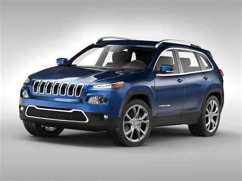 jeep model jeep cherokee 2014 3d model max obj 3ds fbx cgtrader com