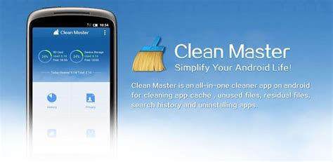 android clean master text me mensajes gratis en android