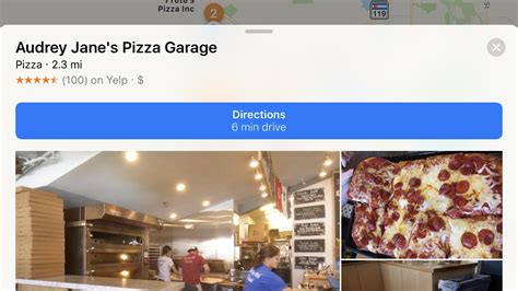 Garage Near Me Open Now Find Pizza Near You With Apple Maps Ask Dave