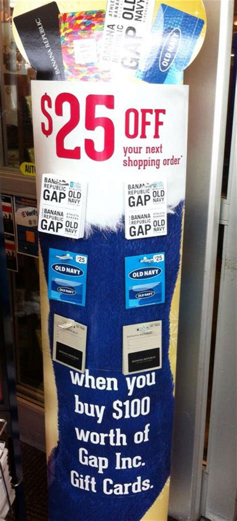 Can You Use Gap Gift Cards At Banana Republic - 25 oyno when you buy gap gift cards kroger krazy