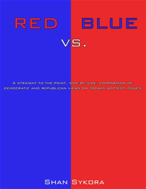 blue democrats republican vs democratic states book covers