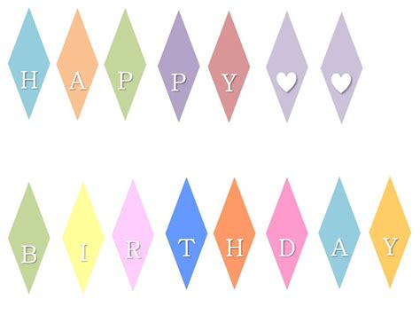 printable alphabet bunting template little mrs can t be wrong how to happy birthday mini