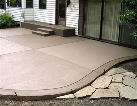 colored concrete patio 25 best ideas about colored concrete patio on