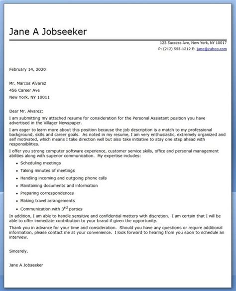 Media Assistant Cover Letter by Cover Letter Sle Letter Sle And Letters On