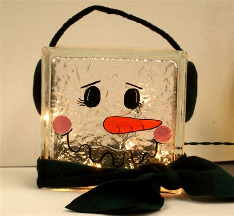how to make glass blocks with lights how to make decorative glass block lights wanker for
