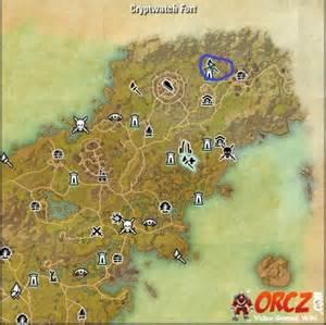 skyshard eso locations map eso glenumbra skyshards cryptwatch fort skyshard orcz