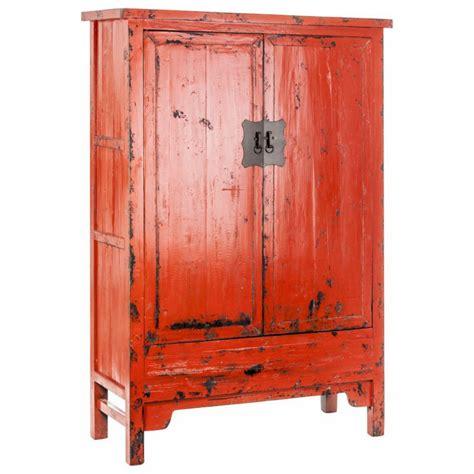 armadio rosso armadio cinese rosso anticato mobili etnici provenzali