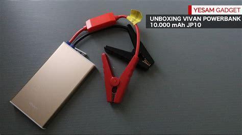 Powerbank Vivan Jumper Mobil powerbank bisa buat jumper aki mobil soak giveaway closed