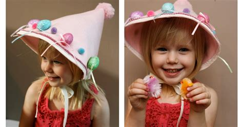 easy easter bonnet template rachelle rachelle easy diy easter bonnet