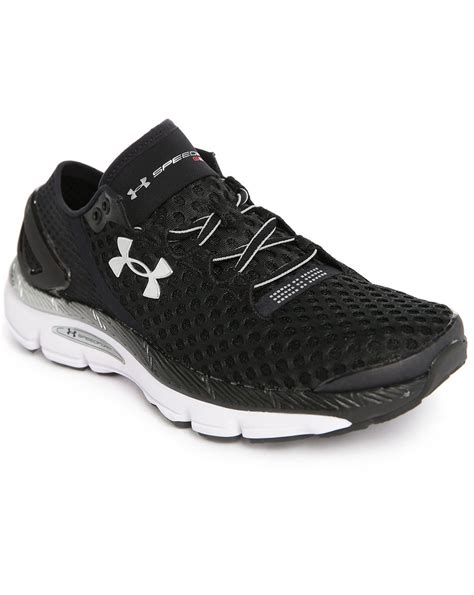 black armour shoes armour speedform gemini 2 black running shoes in