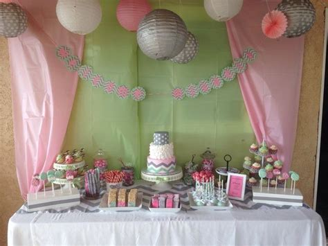 Baby Shower Decorations Pink And Green by Pink And Green Baby Shower Ideas Babywiseguides Com