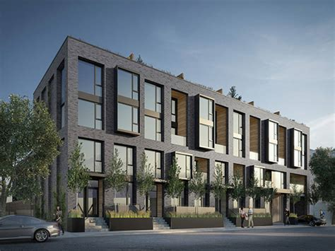 teakholz patio möbel vancouver the top 5 new townhouse projects in toronto