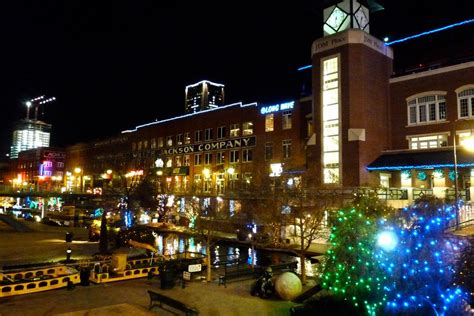 oklahoma city bricktown at christmas 2010 christmas