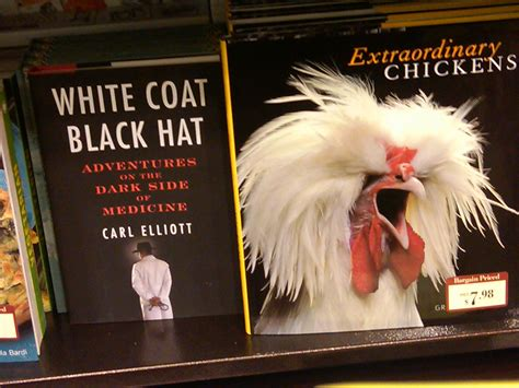 in a white coat books announcing the white coat black hat photo competition
