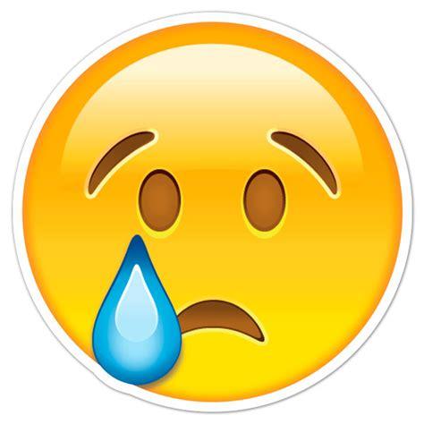imagenes carita triste llorando pegatina cara triste llorando