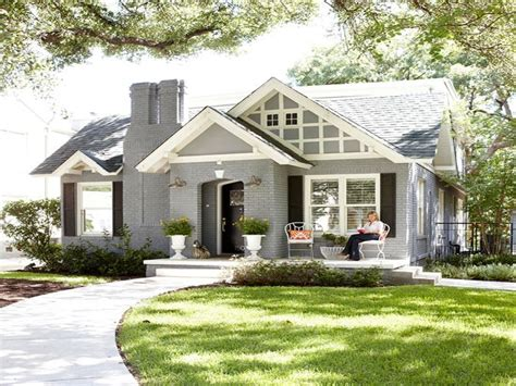grey painted brick house white painted brick houses gray painted brick homes small cute house mexzhouse com