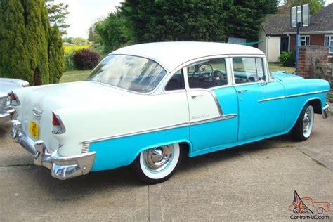 1955 Chevy Belair 4 Door by 1955 Chevrolet Belair 283 V8 Manual 4 Door Cheap