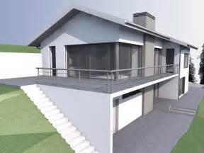 plan avec sous sol maison moderne