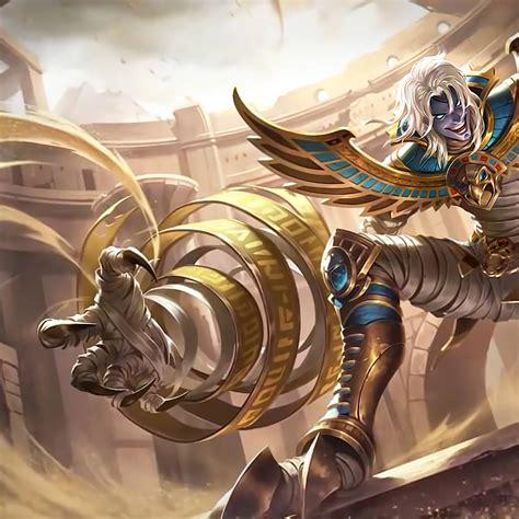 kufra desert owl skin mobile legends   wallpaper