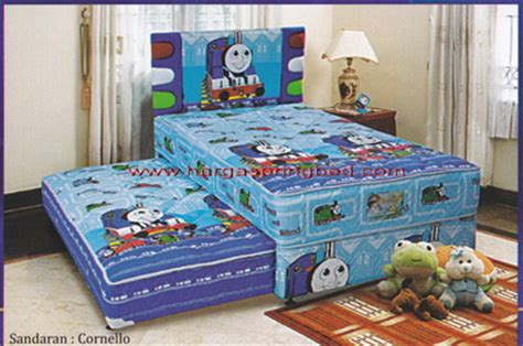 Kasur Bed Merk Uniland bed 2 in 1 kasur sorong springbed anak sorong