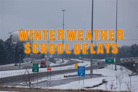 Winter Weather High Volume Delays Winter Weather School Delays Texarkana Today