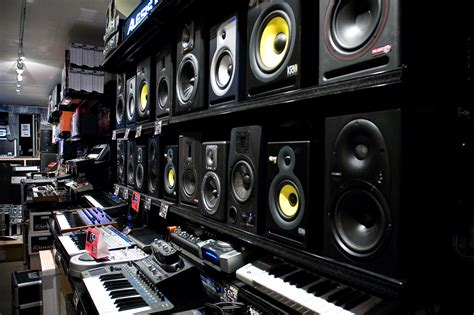 Audio Interiors by File Moog Audio Shop Interior 1 Montreal Canada Jpg