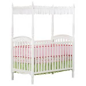 White Baby Crib With Canopy by Delta Children Lil Princess Canopy Crib White Baby