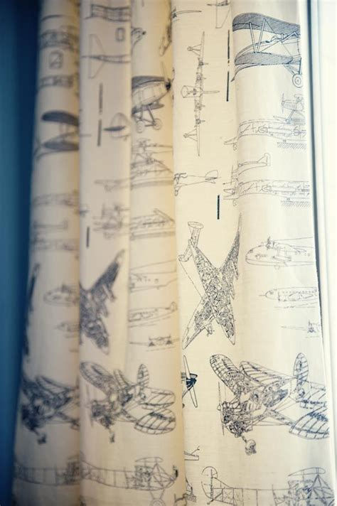 airplane curtains travel themed curtains nursery ideas pinterest pink