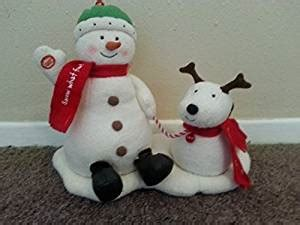 hallmark bathroom snowman amazon com hallmark jingle pals snowman dog singing