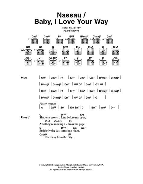 baby i your way baby i your way sheet by frton