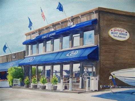 boat show fontana wi gordy s boat house restaurant on the water front at