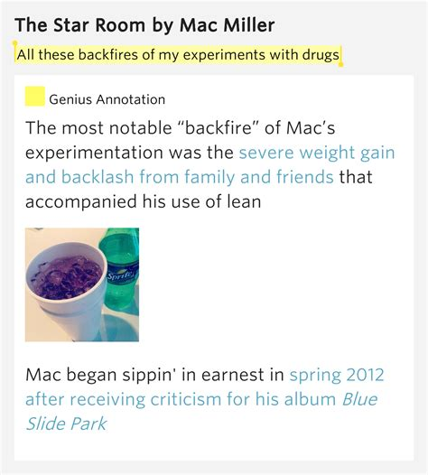 the room mac miller lyrics all these backfires of my experiments with drugs the room lyrics meaning