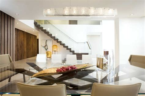 contemporary twilight residential interior design