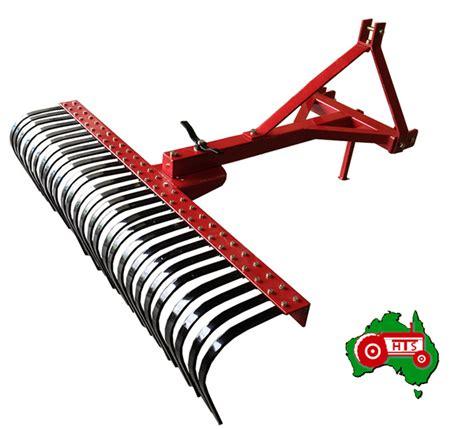 Landscape Rake Category 1 Tractor Landscape Stick Rake 5 Foot 3 Point Linkage Cat 1