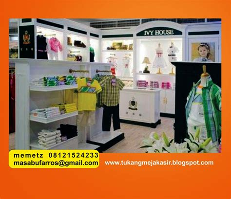 layout toko baju interior design specialist meja kasir baby shop design