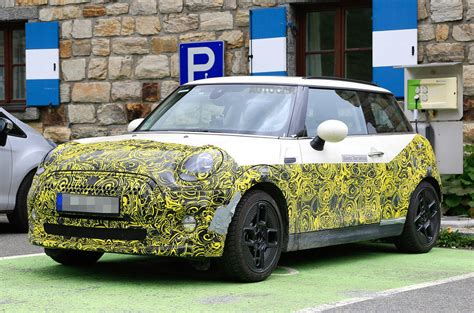 2019 Mini Electric by 2019 Mini Electric Spotted Testing In The Alps Motoringfile