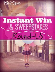 Best Instant Win Sweepstakes - 17 best ideas about instant win sweepstakes on pinterest