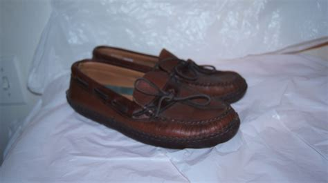 ll bean womens sandals womens l l bean leather driving shoes 9 m or mens 7 5 ll