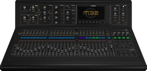 Mixer Audio Midas midas m32 40 channel live studio digital mixer console