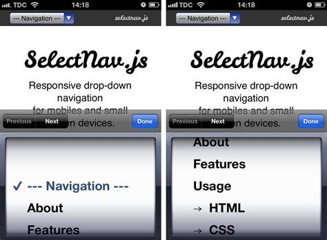 responsive design menu drop down terremoto bcn th3 w0rld sh4k3r