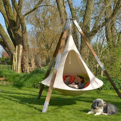backyard hammocks hanging hammock chairs adding cing fun to modern