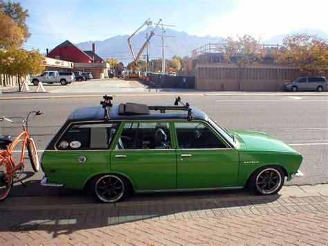 1972 datsun station wagon cc outtake 1972 datsun 510 wagon green edition
