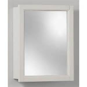 white surface mount medicine cabinet mirror bathroom decor