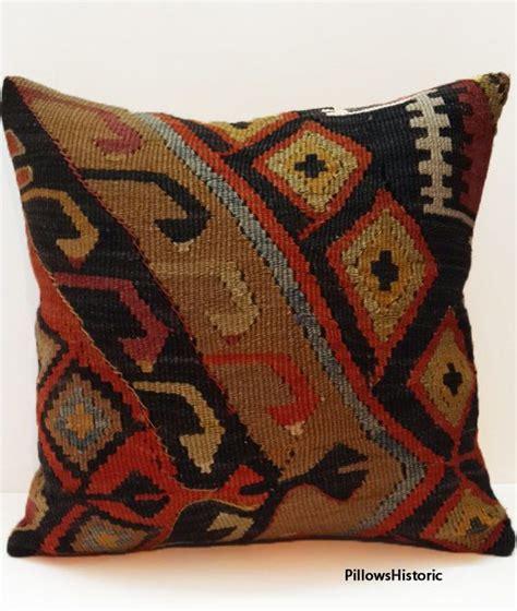 bohemian home decor kilim cushion cover rustic pillow sham