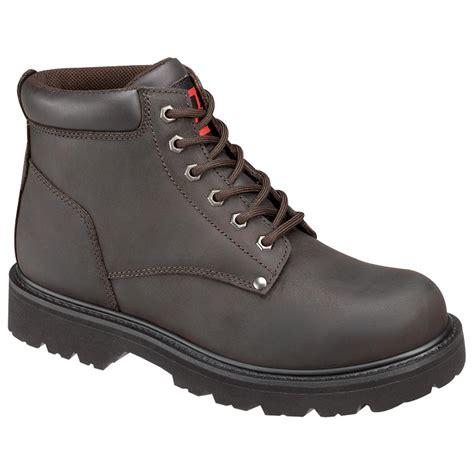 mens steel toe work boots cheap s thorogood 174 6 quot steel toe work boot 142518 work